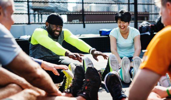Rower a ćwiczenia rozciągające